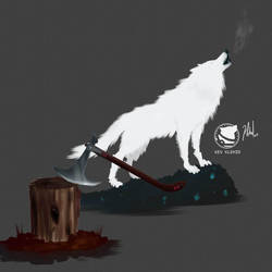 White Wolf by klehid