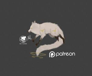 WHITE MAGIC FOX by klehid