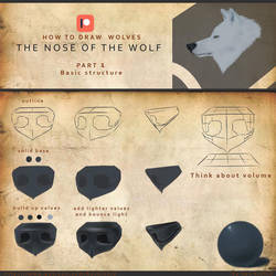 GUIDE HOW TO DRAW A WOLF FREE PART 1 by klehid