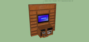 Livingroom Entertainment center1 by xx---greg---xx