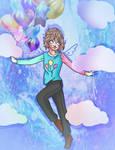 Fly Away Angel Boy by CreativeOwlet