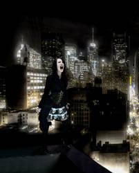 Vampire Cait-Ravenous by VampHunter777