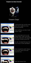 Fangs Tutorial by Alana by VampHunter777