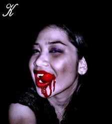 Vampire Bee-Yummy Blood by VampHunter777
