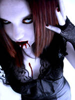 Vampire Caz-Bloodlust by VampHunter777