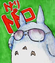 My Totoro is pimpin' by sithdragon42