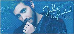 Jake Gyllenhaal signature by akinuy