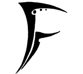 Letter 'F' by Tonfish