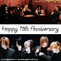 Happy 16th Anniversary  by Moonshinenight1