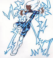 DC Revolt: Black Lightning by FrischDVH