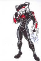 DC Revolt: The Black Manta by FrischDVH