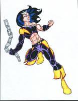 Marvel Revolt: Thundra by FrischDVH