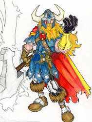 MARVEL REVOLT 2: Thor by FrischDVH