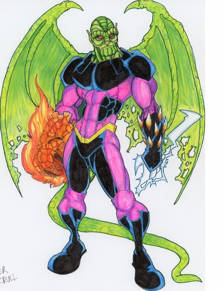 Marvel REVOLT II: The Super Skrull by FrischDVH