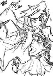 Sketch - Kill La Kill - Mankanshoku Mako by Zraty