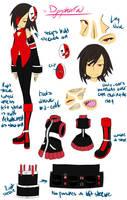 Dysphoria - Character Design by michikopanic