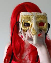 . venetian masque 1 . by Grotesque-Stock