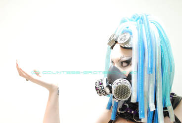 . cyber blue II . by Grotesque-Stock
