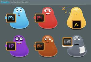 Gumbo CS3 by IconBlock