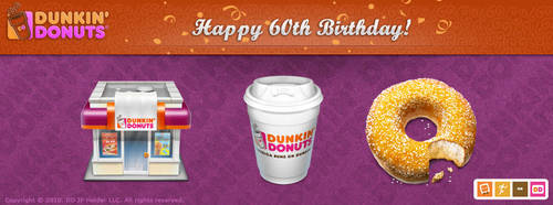 Dunkin' Donuts by IconBlock