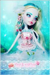 Pink Sea Salt by MiveeArt