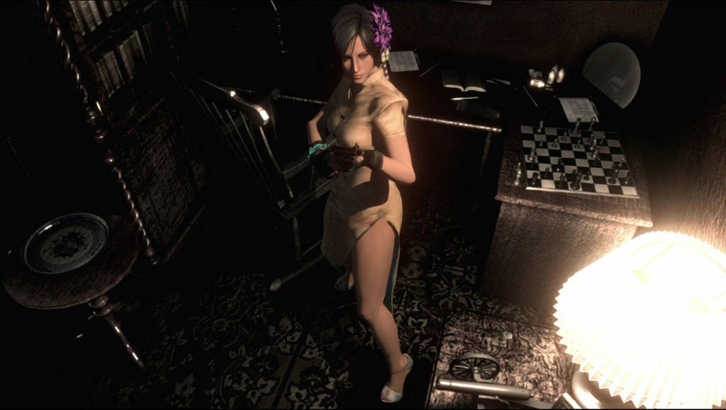 Ada Wong Extra Costume for Remaster HD by XMasterGeorgeChiefX