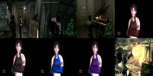 Resident Evil 5 Rebecca Leather Costume by XMasterGeorgeChiefX