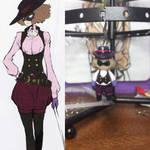 Beauty Thief Noir by PrincessPlusle