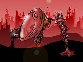Robot by c1rruscl0ud