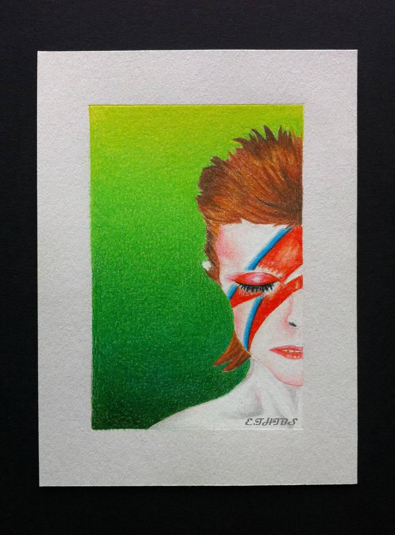 David Bowie Aladdin Sane by EhrenThibs