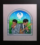 Junior Wells and Buddy Guy by EhrenThibs