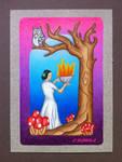 The High Priestess by EhrenThibs
