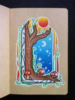 Magic Tree by EhrenThibs