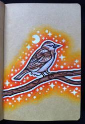 Sparrow by EhrenThibs