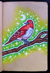 Red Finch by EhrenThibs