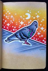 Pigeon by EhrenThibs