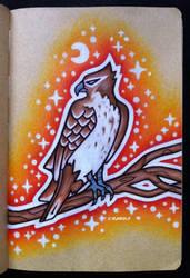 Red-Tailed Hawk by EhrenThibs