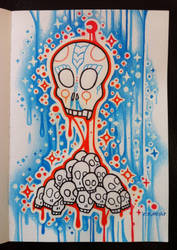 Skull Nest by EhrenThibs