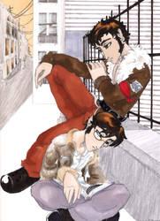 Horace and Jasper by measlyflee