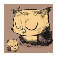 Owltober 1st 2009 by sayunclecomics