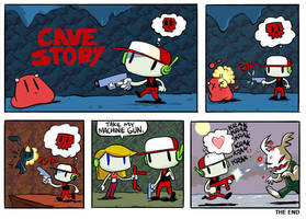 CAVE STORY - fool for love by sayunclecomics
