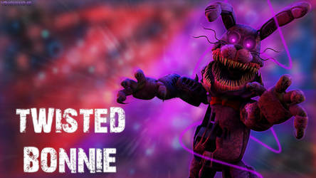 Twisted Bonnie - Desktop Wallpaper by YingYang48