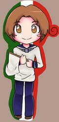 Italy Chibi by Patriot-Sheep