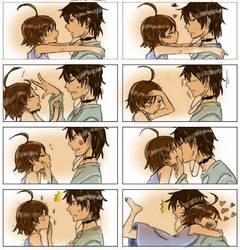 Kiss me or not ? by Miiiiiiimi