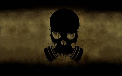 Gas Mask Skull 1024x1024 backround by ozzman39