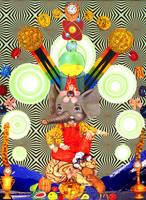 Ganesha's Daydreams by warpart