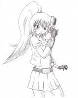 Akiko sketch by RocatArt