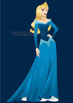 Princess Aurora - Sleeping Beauty by paufranco