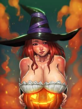 Happy Halloweeen~ || nsfw optional by Snouken