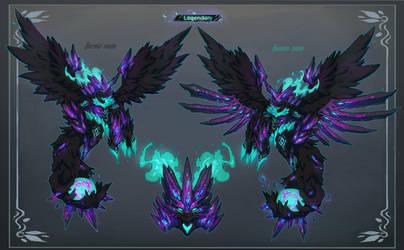 [Custom Fuwachii] Crystal Dragon Legendary by Snouken